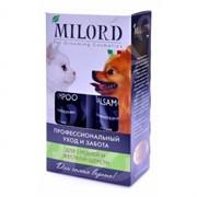 MILORD Набор для Средней и Жесткой шерсти: Шампунь 250мл + Бальзам 250мл