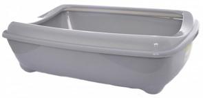 Moderna Туалет-лоток большой с рамкой artist large + rim, 57х43х15 jumbo серый
