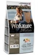 PRONATURE Пронатюр Холистик корм для кошек для кожи и шерсти, лосось с рисом