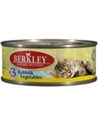 BERKLEY Беркли Консервы для котят с кроликом и овощами, Kitten Rabbit&Vegetables