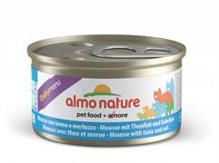 Almo-Nature Консервы нежный мусс для кошек Меню с Тунцом и Треской (Daili Menu mousse Tuna and Cod)