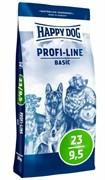 HAPPY DOG Профи Крокетт 23 - 9,5 Базис  20 кг