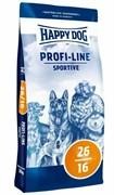 HAPPY DOG  Профи Крокетт 26-16 Спорт  20 кг