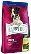 HAPPY DOG корм д/с Суприме Мини Африка для мелких собак