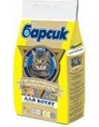 БАРСИК наполнитель д/котят 4,54л