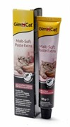 Gimpet Джимпет  Malt-Soft-Extra Паста для вывода шерсти из желудка 20г