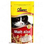 Gimpet Джимпет Malt-Kiss Витамины д/кошек для вывода шерсти из желудка 65шт