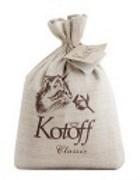 KOTOFF PREMIUM ECO-концепция Комкующийся наполнитель Классический (холщовый мешок)