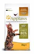 APPLAWS Беззерновой для Кошек Курица/Овощи: 80/20% (Dry Cat  Chicken)
