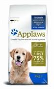 APPLAWS  Беззерновой для Собак - контроль веса Курица/Овощи: 75/25% (Dry Dog Chicken Light)