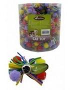 Игрушка Разноцветный бант с бубенчиком, 7см (Colourfull bow with bell) 240028