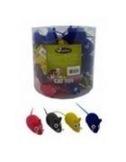 Игрушка вельветовая Мышка-норушка 6см, (Velvet mouse) 240030