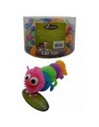 Игрушка для кошек Гусеница, латекс,  6,5см (Caterpillar) 240040