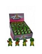 Игрушка для собак Деловые крокодилы, латекс, 10см