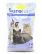 EUROLITTER Комкующийся наполнитель Контроль запаха, без пыли (Dust Free)