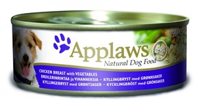 APPLAWS Консервы для Собак с Курицей, овощами и рисом (Dog Chicken, Veg & Rice)
