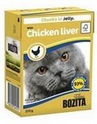BOZITA  Кусочки в желе для кошек c куриной печенью, Bozita in Jelly with Chicken Liver