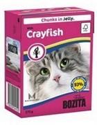 BOZITA  Кусочки в желе для кошек с лангустом, Bozita in Jelly with Crayfish