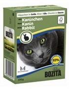 BOZITA  Кусочки в соусе для кошек с кроликом, Bozita in Sauce with Rabbit