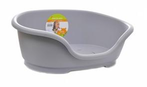 Moderna Лежак domus пластиковый 80см, 92х61х26, серый