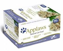 APPLAWS Набор для Кошек Куриное ассорти: 8шт.*60г (Cat Chicken Selection MP) 7007CE-A